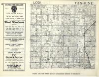 Lodi T3S-R5E, Washtenaw County 1957